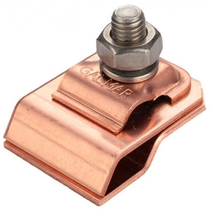 GALMAR GL-11545M — зажим на водосточный желоб для токоотвода (медь)