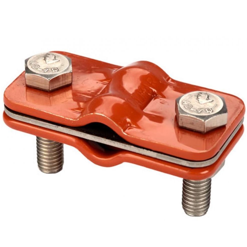 """GALMAR GL-11563A — зажим контрольный для соединения токоотводов """"проволока + проволока"""" (крашенная оцинкованная сталь)"""