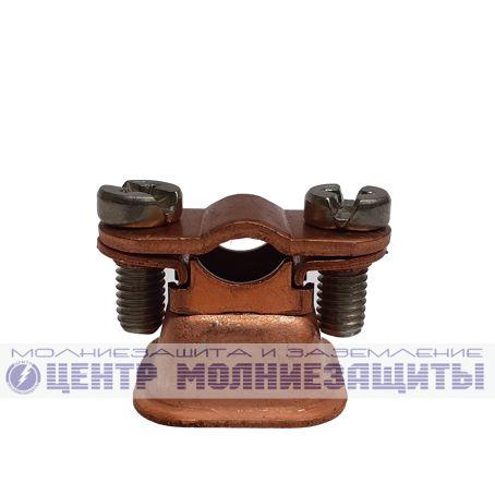 Держатель быстрого монтажа h=18 мм Rd 8 защелка (CU)