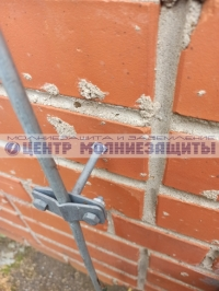 Фасадный держатель 125 мм ND2306