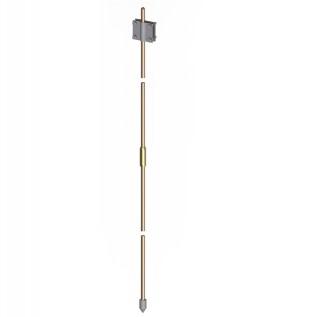 Комплект вертикального заземлителя 3м, омедненная сталь D14,2 мм NE1114CC DKC