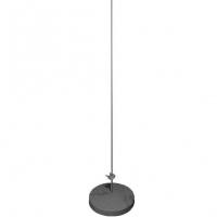 GALMAR GL-21130 — Молниеприемник-мачта (1,5 м; на 1м бетонном основании; оцинкованная сталь)