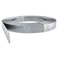 Полоса стальная оцинкованная 25х4 мм в бухтах