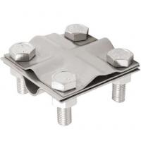 Зажим для подключения проводника (D14; нержавеющая сталь)