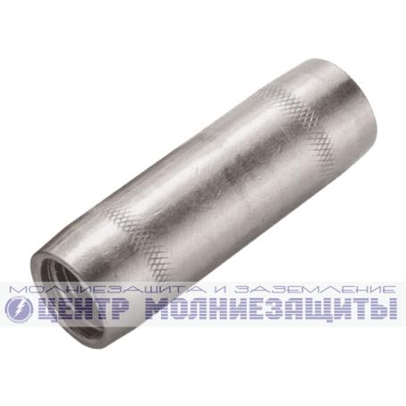 Муфта соединительная для стержня 20 мм, нержавеющая сталь