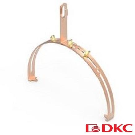 Зажим коньковый регулируемый увеличенного размера, медь ND2203CU DKC