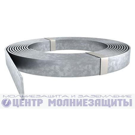Полоса стальная оцинкованная 40х4 мм в бухтах