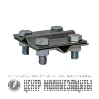 Соединитель пруток-пруток d=8-10 мм, оцинк.
