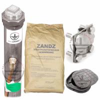 ZANDZ ZZ-100-102 Комплект электролитического заземления (горизонтальный; 3 метра)